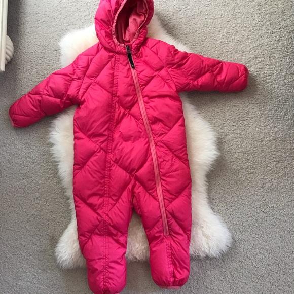 8b5063095 REI Baby Pink Goose Down Bunting Snowsuit. M_5be310b1baebf6e1aea647de